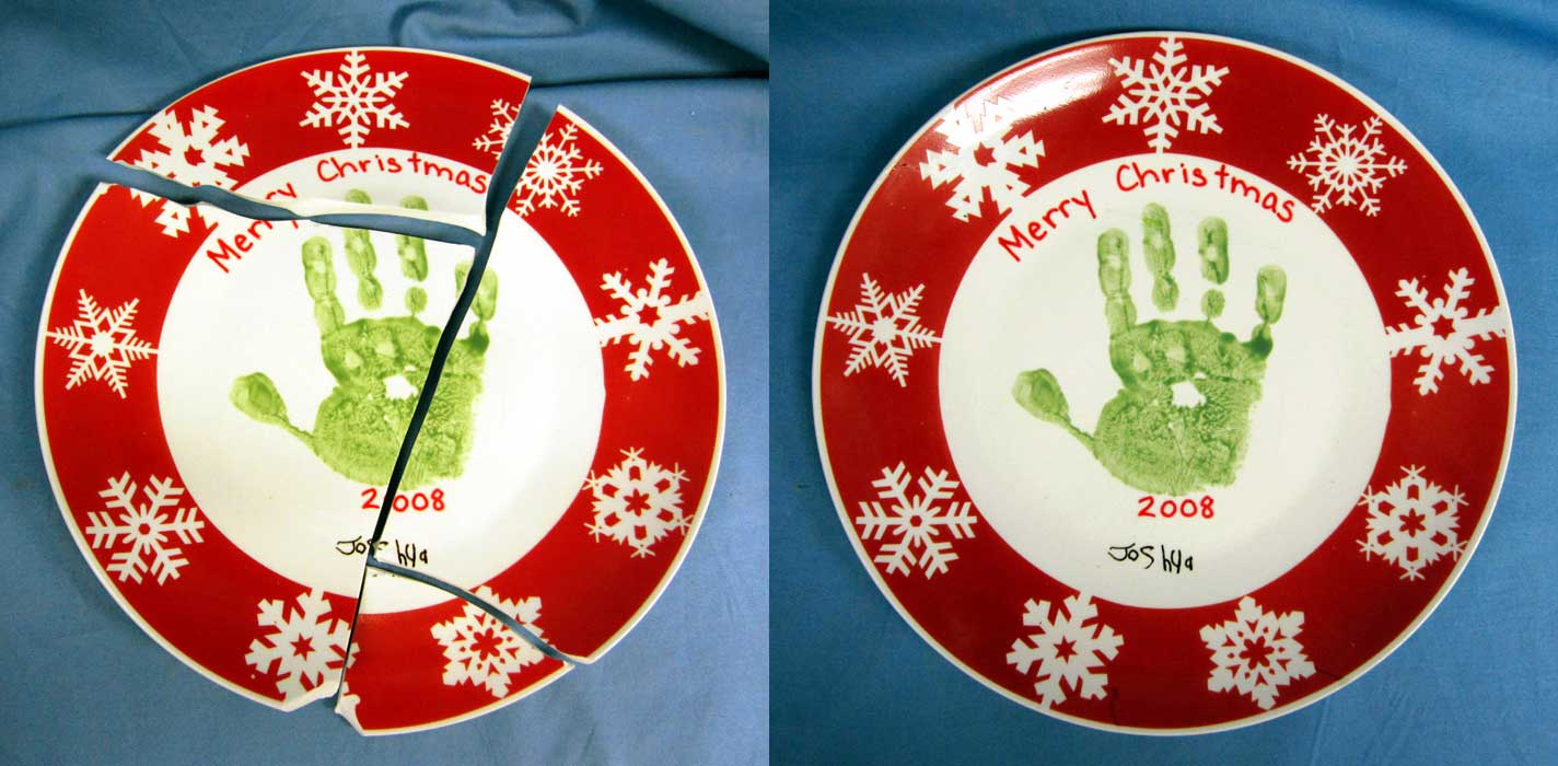 Christmas plate before 900 baf