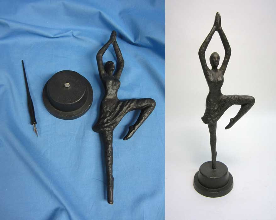 Dancer sculpture before 900 baf