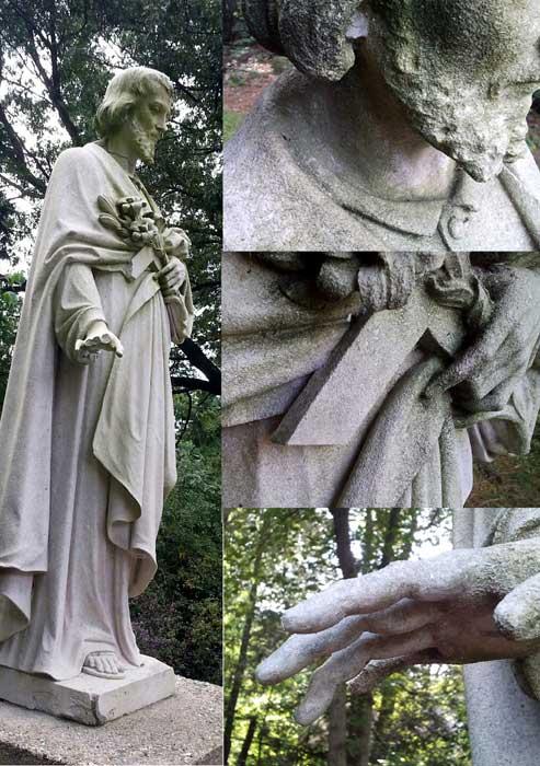 Joseph statue montage 1